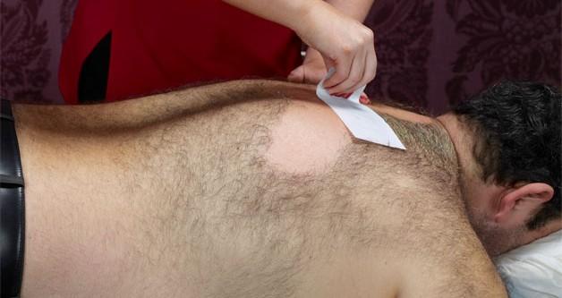 Voks vælg ml. hel ryg, bryst, mave , incl. Skulder